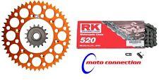 RK Chain & Renthal Piñón Naranja KTM SX EXC SXF Kit 125/150/250/300/450 13/50