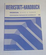 Werkstatthandbuch Honda Civic 5 Türer Karosserie Reparatur Handbuch Stand 10/94