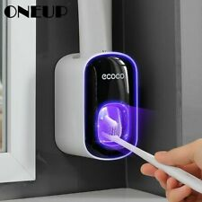 Auto Squeezer Toothpaste Dispenser Touch Automatic Hands Free Dust Proof Home