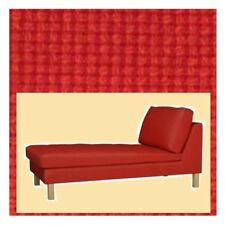 "IKEA Karlstad Chaise Lounge""Longue""COVER Freestanding Korndal Red Stand Alone Nw"