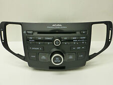 ACURA TSX Premium SAT. XM RADIO CD Disc WMA MP3 Player STEREO UNIT 11 12 13 14