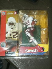 2003 EMMITT SMITH McFARLANE FOOTBALL  FIGURE WHITE JERSEY variant CARDINALS NEW