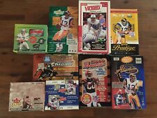 2000 Absolute Playoff Football Opened, EMPTY, Box - 10packs