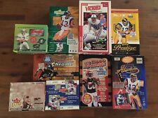 2000 Victory Football Opened, EMPTY, Box - 26 packs