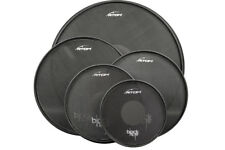"RTOM Black Hole Snap-on Mesh Practice Pad Combo Pack - 10""/12""/14""/16""/22"""