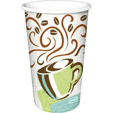 Dixie 12 oz PerfecTouch Insulated Paper Hot Cup Coffee Haze Design - 160 Cups