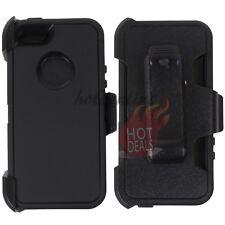 For Apple iPhone 5/5s Black Case Cover (Belt Clip Fits OtterBox Defender)