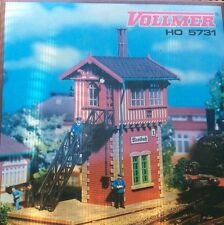 VOLLMER 5731 HO Signal Interlocking Tower Trackside Structure
