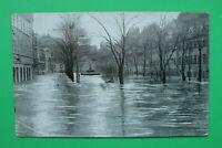Bayern AK Nürnberg 1909 MFR Hochwasser Katastrophe Maxplatz Häuser Gebäude (1