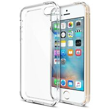 iPhone 5S 5 Case, Trianium [Clear Cushion] Clear Bumper Case Shock-Absorbing