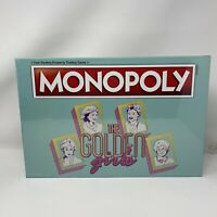 The Golden Girls Monopoly Board Game By USAopoly Betty White Brand New Sealed