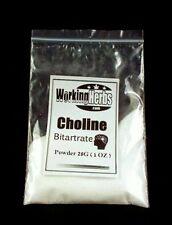 Choline Bitartrate powder 1oz bag for Brain fog and improving memory