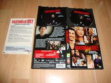 ANATOMIA DE GREY PRIMERA TEMPORADA EN DVD CON 9 EPISODIOS EN BUEN ESTADO