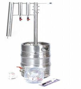 DISTILLER 30 L -large inlet- stainless steel STILL moonshine brew copper alcohol