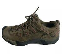 Keen Shoes Mens Targhee II Cascade Brown Waterproof Low Top Hiking Trail Size 10