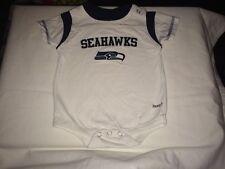 Seattle Seahawks NFL Baby/Infant Snap-tee Bodysuit 6-9months Team Apparel Reebok