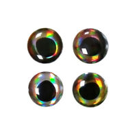 4D 6-8-10mm Artificial Holographic Fake Eyes Fishing Fly Tying Lures Crafts DIY