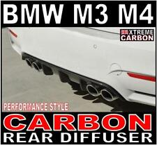 BMW M3 M4 Performance Style Carbon Rear Diffuser F80 F82 Xtreme Carbon UK