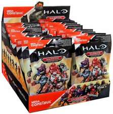 Halo Mega Bloks Construx Warrior Mystery Pack Red Elite Action Figures Lot Of 5