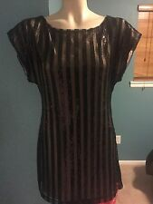 Bcbg Women Sequin Sexy Party Dress Size Small