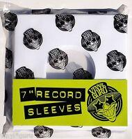"""Vinyl Guru Pack of 20 x 7"""" inch Vinyl Record Single White Paper Sleeves"""