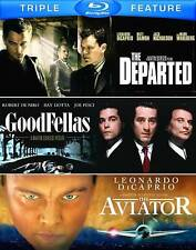 Martin Scorsese Triple Feature (Goodfellas / The Aviator / The Departed) [Blu-ra