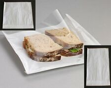 Film Fronted Paper Bags With See Through Window For Sandwiches,Cards,Cakes,Food