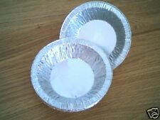 """200 x 4½"""" Small Fruit Pie Foil Dishes"""