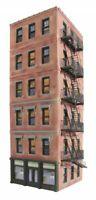 AMERI-TOWNE OGR 942 O Scale MIDTOWN HOTEL Model Railroad Building Kit Lionel