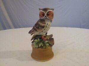 Shafford Owl music figurine