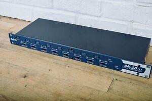 Aviom AN-16o V.4 A-Net input module Personal monitor mixer MINT-IEM stage mixer