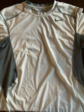 Mens Nike Pro Combat Dri-Fit Fitted Athletic Short Sleeve shirt | Sz M |