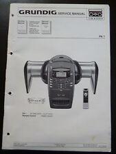 Original Service Manual  Grundig  PA 1