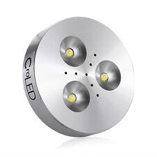 3W Aluminum 3 LED Wall Light Kitchen Cabinet Closet Lighting Lamps White DC 12V