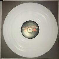 GUNS N' ROSES, GREATEST HITS, 180G TRANSPARENT WHITE COLORED VINYL LP, W/ POSTER