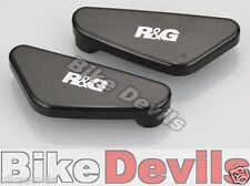 Ducati 1299 Panigale 2015-2019 R&G racing black mirror blanking plates covers