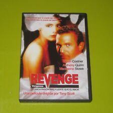 DVD.- REVENGE - KEVIN COSTNER - MADELEINE STOWE - ANTHONY QUINN