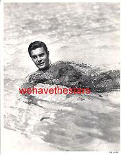 Vintage Louis Jourdan BEEFCAKE HANDSOME 40s Publicity Portrait