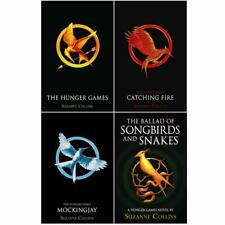 Hunger Games, Catching Fire, Mockingjay, The Ballad 4 Books Collection Set NEW