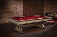 Brunswick Billiards Edinburgh 8ft. pool table | free accessory kit