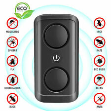 Ultrasonic Pest Repeller Plug Repellent Rat Mouse Spider Insect Bug