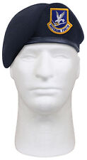 USAF Air Force Beret Inspection Ready Made to MIL SPEC With Flash Rothco 4898
