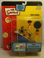 2003 Playmates Simpsons The Octuplets MOC Series 15 World of Springfield Figure
