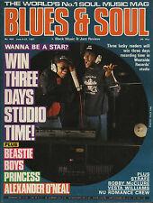 Faze One Blues & Soul 1987    Beastie Boys   Alexander O'Neal   Nu Romance Crew
