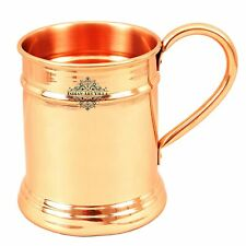 6 x Copper Beer/Cocktail Moscow Mule Mug Cup - copper, 600 ml