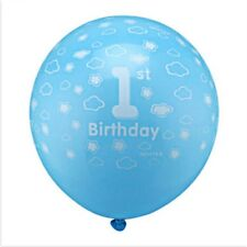 10 Luftballon 1 Geburtstag blau Kinder Party Dekoration Ballon 1. Geburtstag