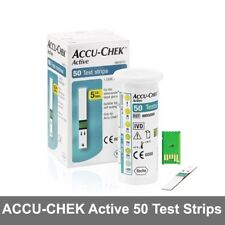 ACCU-CHEK-Active-Test-Strips-50-Sheets-Diabetics-Aids-Blood-Health-Hematocrit