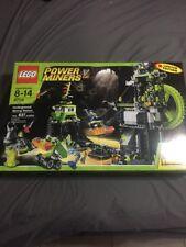 Lego Power Miners 8709 Underground Mining Station Dented Box Rare Limited New