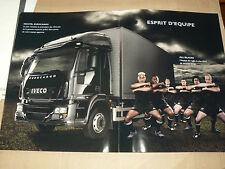 GRAND Catalogue Camion IVECO EUROCARGO ALL BLACKS  brochure LKW  truck