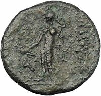 Elaiussa Sebaste in Cilicia 1stCenBC Tyche Hermes Ancient Greek Coin i47179